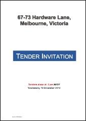 Hardware-Tender-Invite